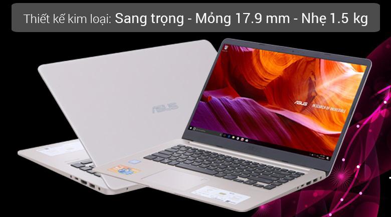 Laptop Asus S510UA i5 8250U (ảnh tại Thế Giới Di Động)