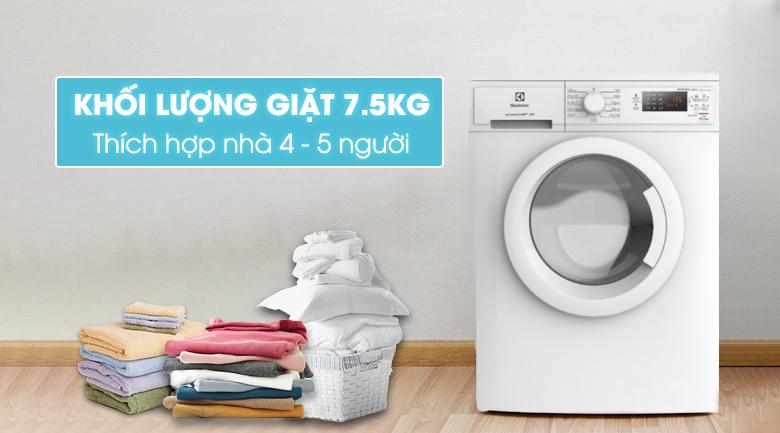 Máy giặt Electrolux Inverter 7.5 Kg EWF7525DGWA