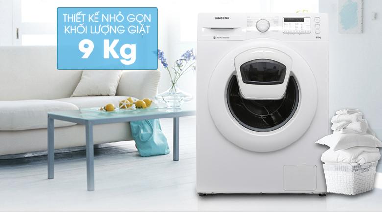 Máy giặt Samsung AddWash Inverter 9 kg WW90K5233WW/SV