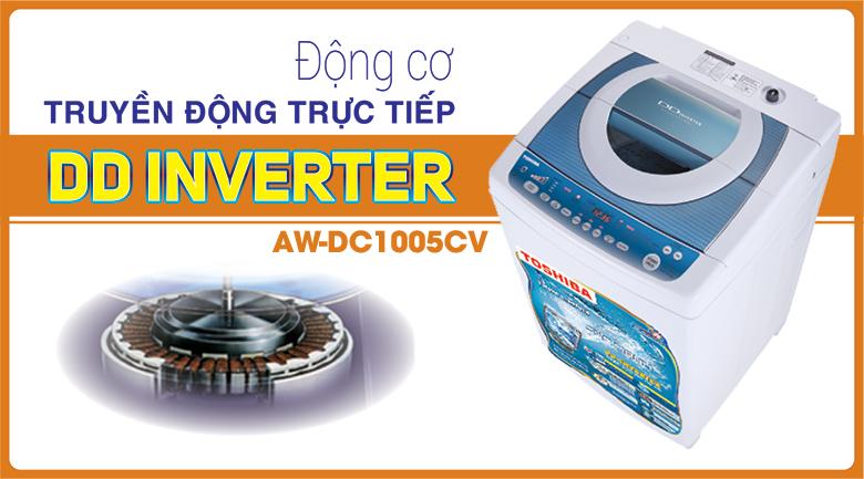 Máy giặt Toshiba DC1005CV (WB) 9kg
