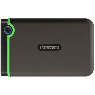 Một mẫu ổ cứng di động 1TB của hãng Transcend