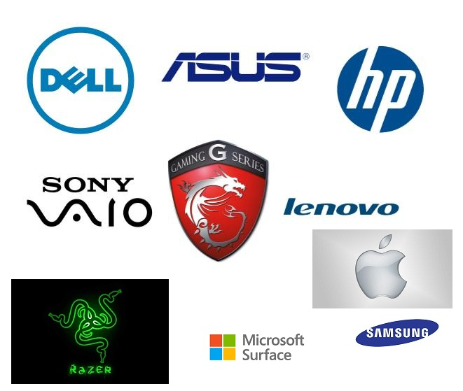 So sánh các hãng laptop