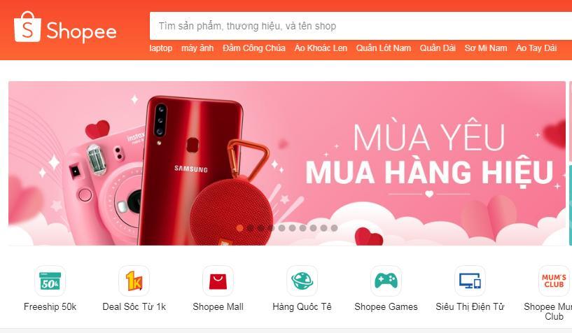 Shopee cung cấp các Smartphone giá rẻ vô địch