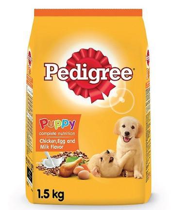 Đồ ăn cho chó con Pedigree vị gà, trứng, sữa