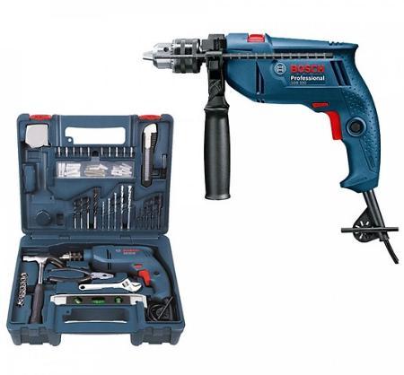 Bộ máy khoan động lực Bosch GSB 550 cầm tay