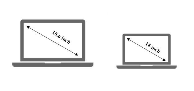 Nên mua laptop 14 inch hay 15.6 inch?