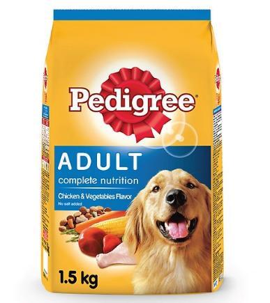 Đồ ăn cho chó vị gà và các loại rau củ Pedigree