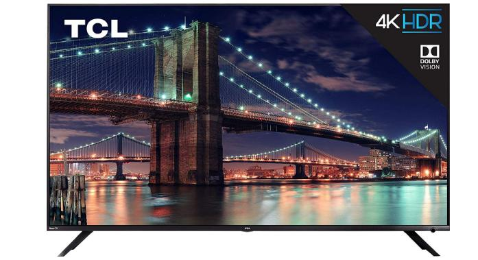 Tivi TCL màn hình phẳng giá rẻ: TCL 6 Series / R617 2018