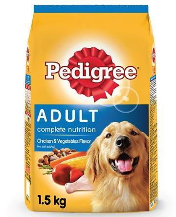 Thức ăn cho chó Pedigree túi 1.5kg