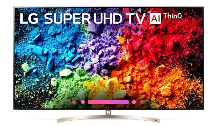 TV ngoài trời tốt nhất: LG SK9500