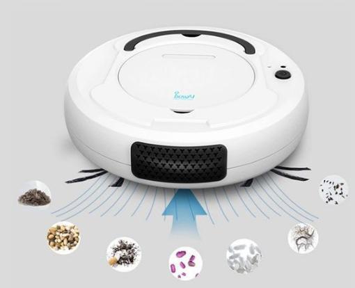 Robot hút bụi lau nhà thông minh BOWAI