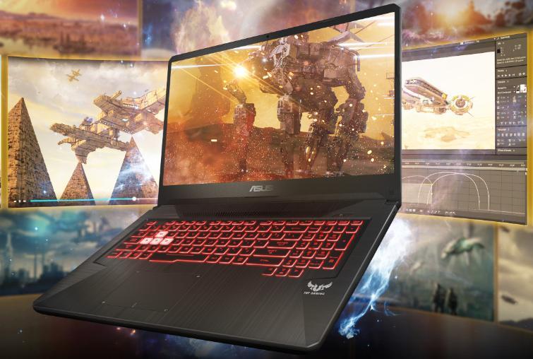 Dòng laptop Asus TUF Gaming FX