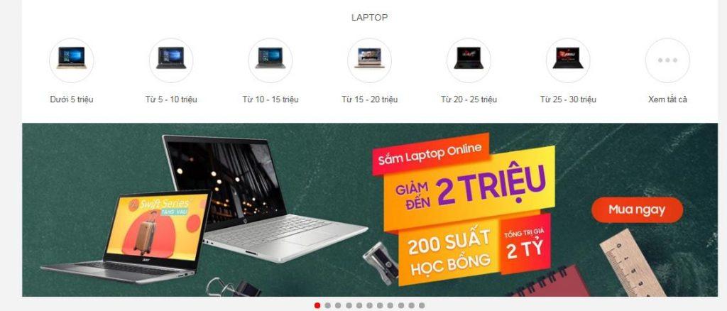 Mua laptop ở FPT Shop được nhân viên tư vấn nhiệt tình, nhiều khuyến mại