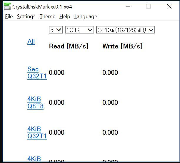 Phần mềm kiểm tra ổ cứng CrystalDiskInfo