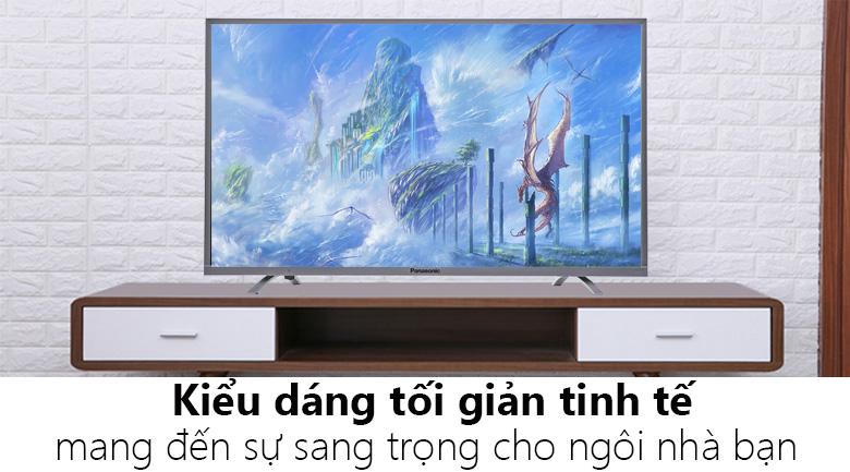 Internet TV của Panasonic với màn hình 4K giá chỉ từ 7 triệu