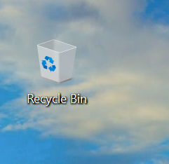 Biểu tượng Recycle Bin(thùng rác) trên Win 10