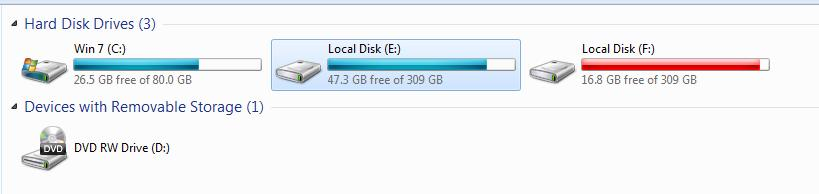 Dung lượng ổ cứng laptop