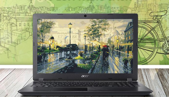 Các mẫu laptop Acer có giá khá rẻ với thiết kế đẹp, nhỏ, gọn