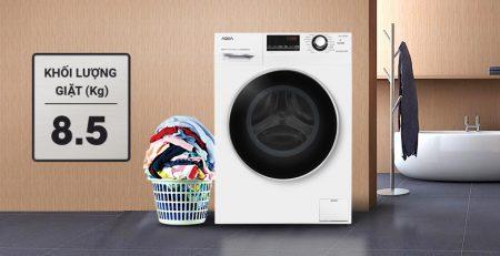 Máy giặt Aqua Inverter 8.5 kg AQD-A852ZT (W) Mới 2018