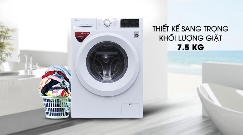 Máy giặt LG Inverter 7.5 kg FC1475N5W2