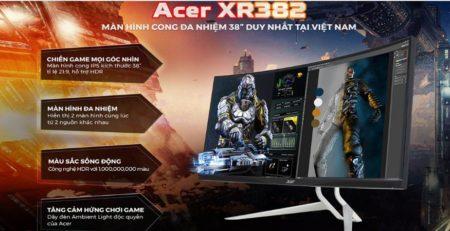 Laptop Predator XR382 để chơi game cấu hình cao
