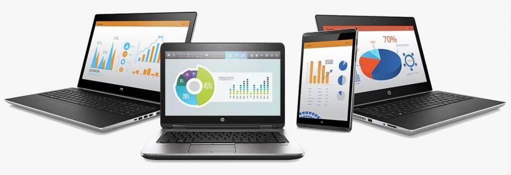 Dòng laptop HP Pro