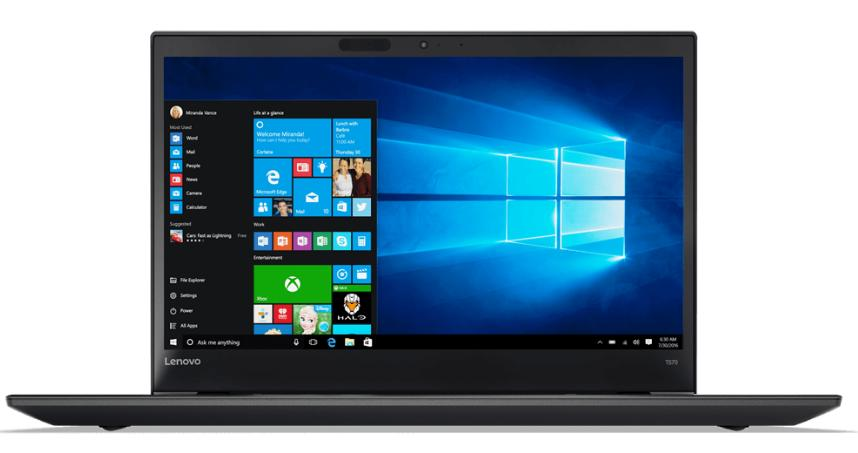Laptop Lenovo ThinkPad T570