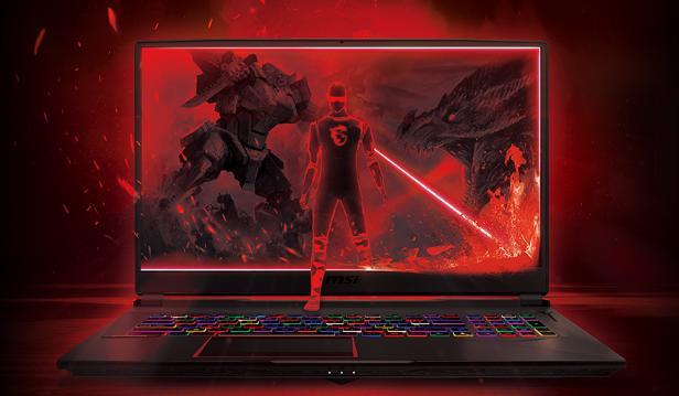 Laptop chơi game GE75 Raider của hãng MSI