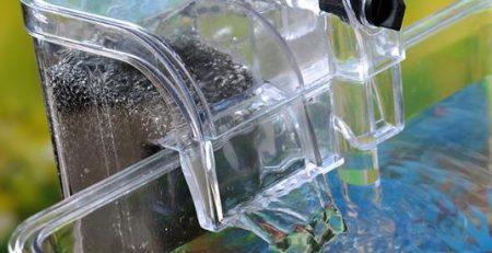 Máy lọc nước bể cá mini lọc nước dạng thác