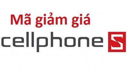 Mã giảm giá CellphoneS mới nhất