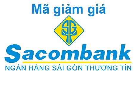 Mã giảm giá Sacombank mới nhất